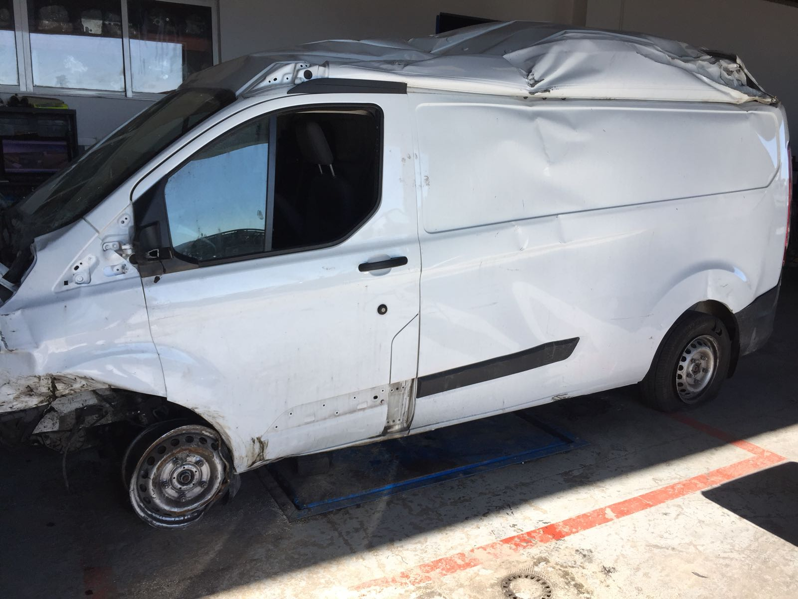 FORD TRANSIT CUSTOM 2.2TDCI 2016 (DESPIECE COMPLETO)