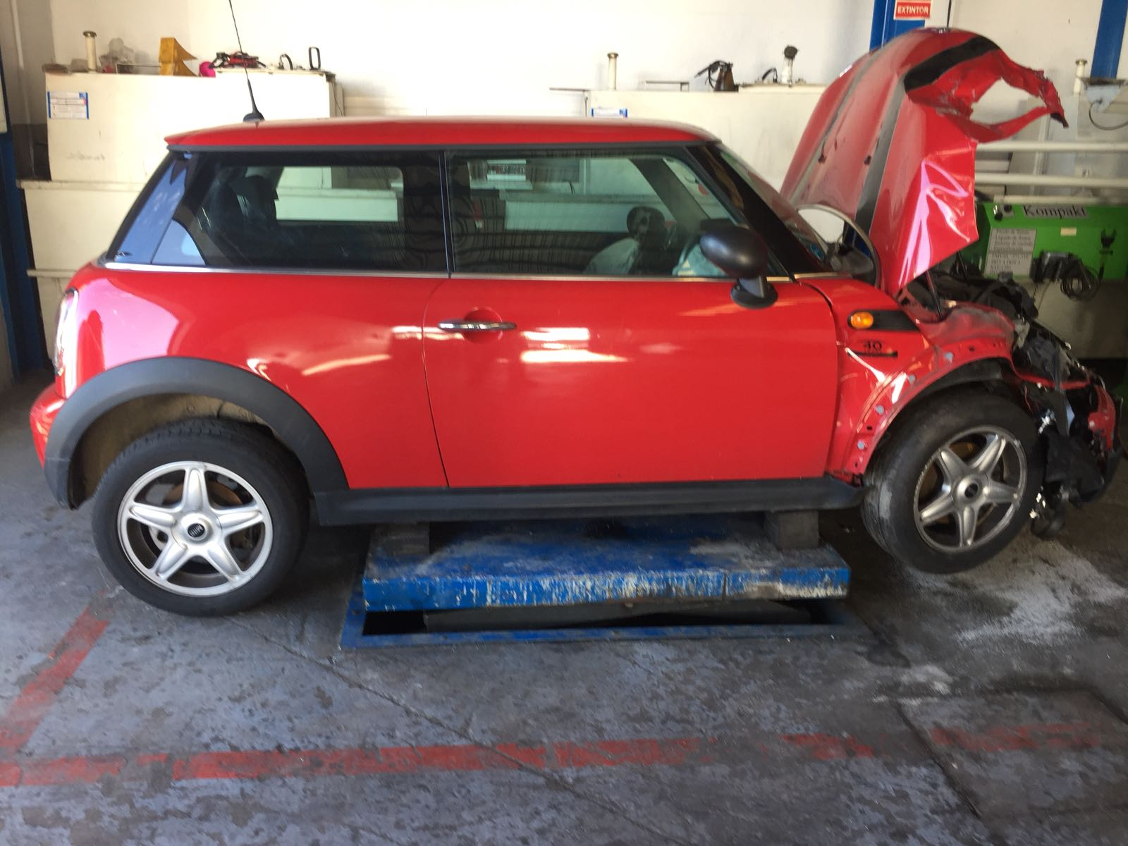 MINI ONE (R56/R57) 1.4cc16v 95cv 2010 (DESPIECE COMPLETO)